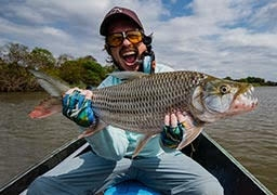 Monstrous Tiger Fish Fly Fishing in Tanzania